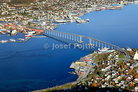 Bridge in Tromso, Norway