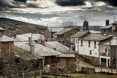 The traditional village of Montesinho. Montesinho Natural Park, Tras-os-Montes. Portugal