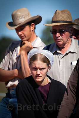 People buy vegetables at a wholesale market in Amish country, Lancaster, Pennsylvania