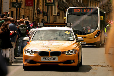 T2012 Torch Relay Official Vehicles