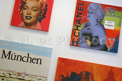 ALLEMAGNE, MUNICH, GALERIE ART//GERMANY, MUNICH, ART GALLERY