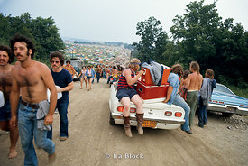 A 1970's rock festival in Watkins Glen, Upstate New York.