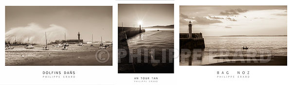 3 Posters d'Art photos