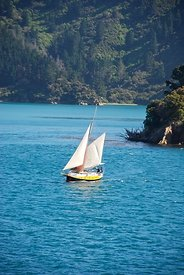 Sailboat in New Zealand