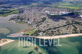 Aerial Photography Taken In and Around Christchurch-Mudeford
