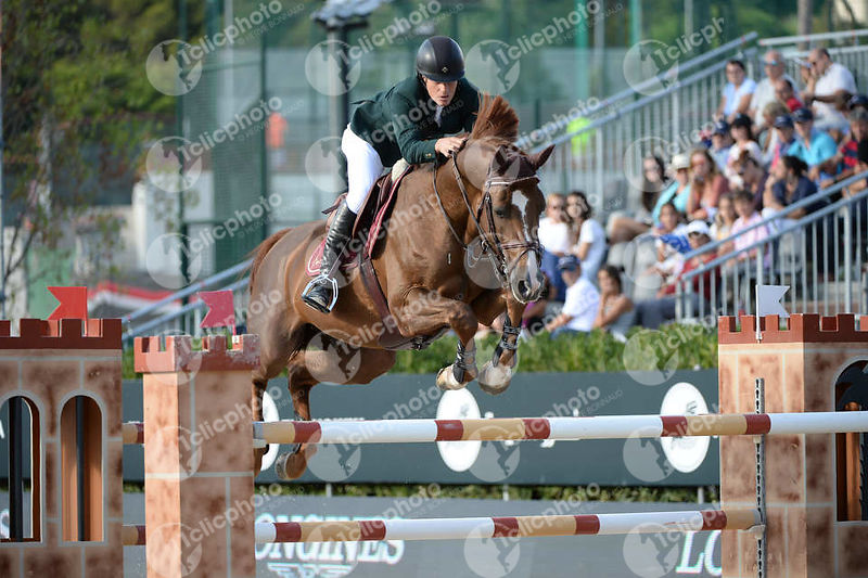 Pedro VENISS ,(BRA), RISSOA D AG BOIS MARGOT during Longines Cup of the City of Barcelona competition at CSIO5* Barcelona at Real Club de Polo, Barcelona - Spain