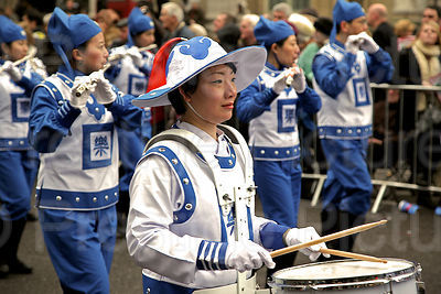 London New Year Parade-Falun Dafa