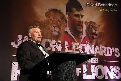 Jason Leonard Pride of Lions Dinner photos