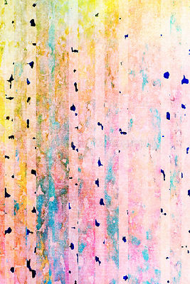 colorful watercolors on textured paper - abstract backround