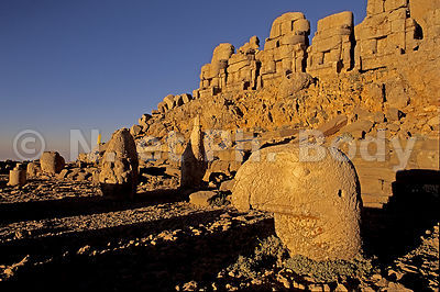 TEMPLE DU NEMRUT DAGI, TURQUIE//TEMPLE OF NEMRUT DAGI, TURKEY