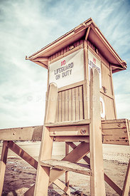 Newport Beach Lifeguard Tower 10 Photo