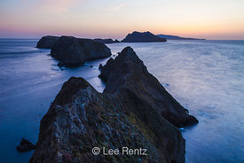 Sunset from Inspiration Point on East Anacapa Island