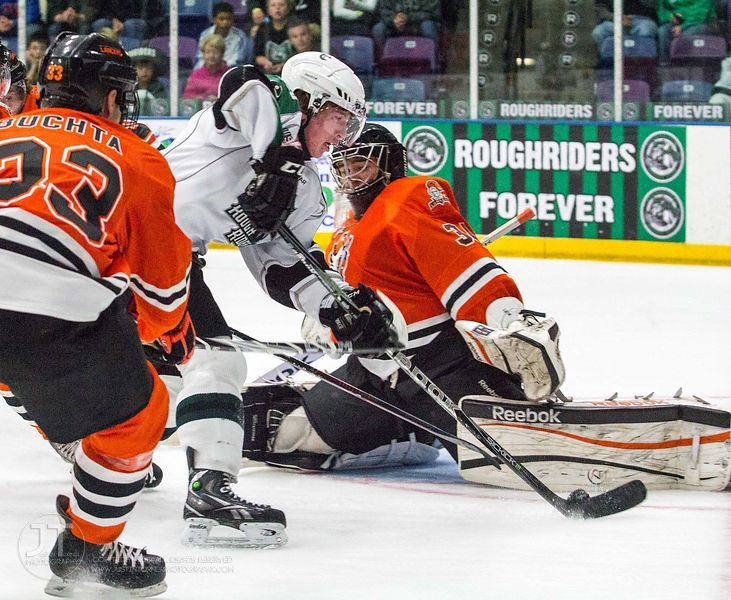 Junior Hockey - 11/3/12 Cedar Rapids Roughriders vs Omaha Lancers photos