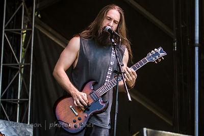 Eddie Veliz, guitar and vocals, Kyng, Aftershock 2014