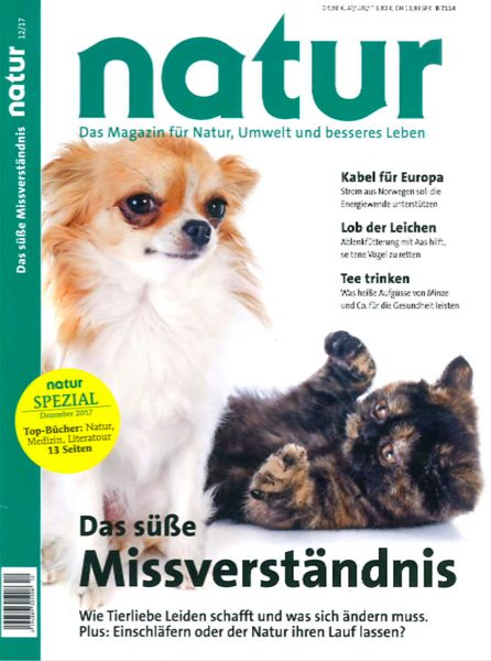 Natur Magazine (Germany) Dec 2017 photos