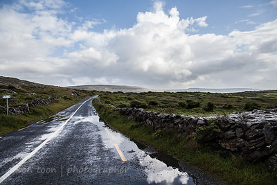 Atlantic road, The Burren, Ireland