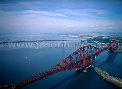 Firth of Forth Rail Bridge.
