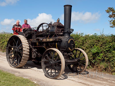 'Alice', a Fowler traction engine built in 1901