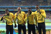 4x100m Jamaican Relay Team