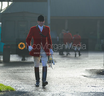 The Cottesmore Hunt visit the Fitzwilliam at Morborne 23/1 photos