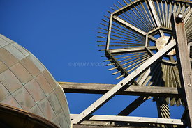 Golden Gate Park Windmill closeup