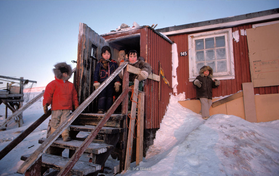 Children in Greenland