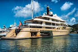 Superyacht here comes the sun