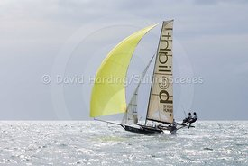 Be Light, HUN 18, 18ft Skiff, Euro Grand Prix Sandbanks 2016, 20160904601