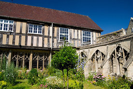 Little Cloister House, Gloucester Cathedral, Gloucester.