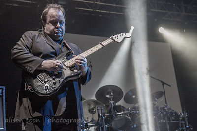 Steve Rothery, guitar, with Marillion performing Brave, UK Marillion weekend, 2013