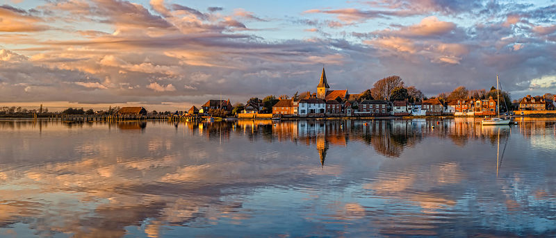 Bosham Harbour at Sunset