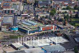 Aerial Photography Taken In and Around Gloucester-Quays Outlet