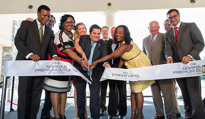 Norfolk Premium Outlets Grand Opening photos