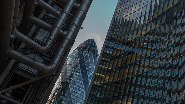 London City Architecture; Gherkin Visible