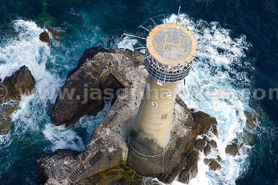 Longships Lighthouse, North Cornwall