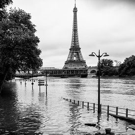 FLOODS OF THE SEINE IN JUNE, 2016 Photos de Paris