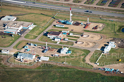 Drilling Rig Manufacturer, Aerial Photo