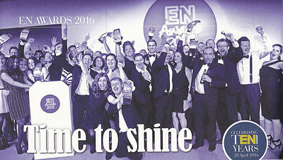 Exhibition News magazine - EN Awards - April 2016