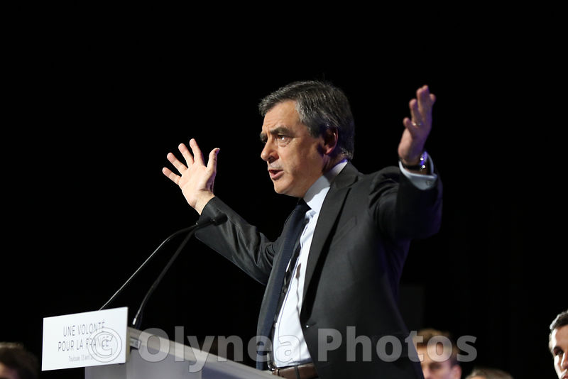 Meeting de François Fillon à Toulouse