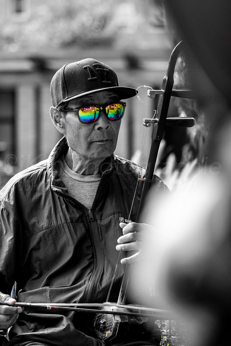 Street Photo - Psychedelic glasses