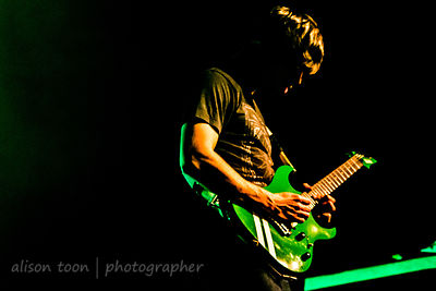 JB Brubaker, guitar, August Burns Red