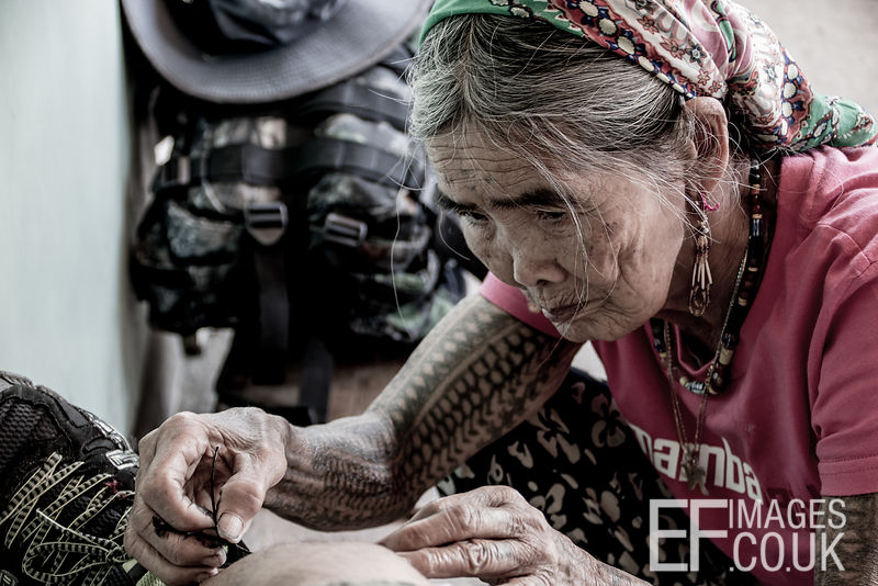 Wang Od, Last Living Kalinga Headhunter Tattoo Artist