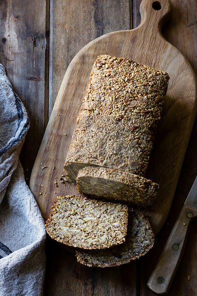 A Gluten-Free Vegan Nut and Seed Bread
