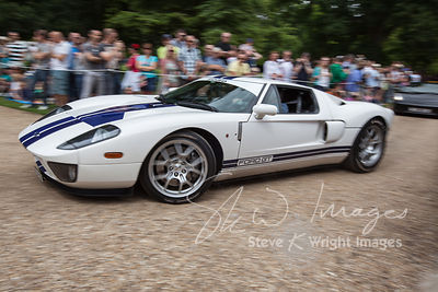 Ford GT at the Wilton Classic and Supercar 2013 - Wilton House, Salisbury, Wiltshire, United Kingdom (4th August 2013)