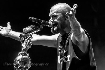 Ivan Moody, vocals, Five Finger Death Punch