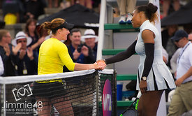 Madison Brengle & Serena Williams
