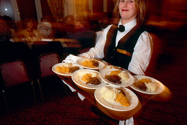 Haggis, Neeps and Tatties - Burns Supper