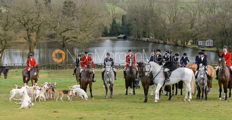 The Quorn Hunt at Poultney Farm 27/1 photos