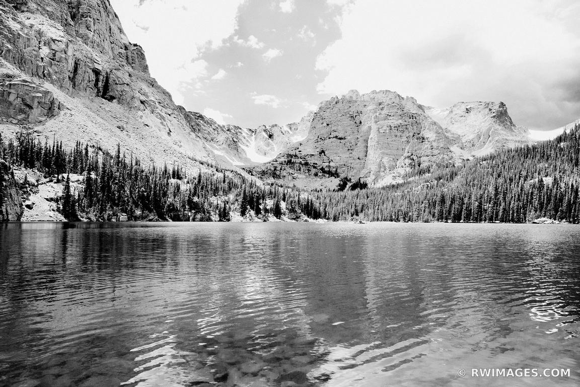 Photo print of loch vale lake the loch rocky mountain for Fine art photography sales