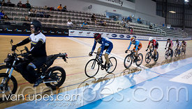 Men Keirin 7-12 Final, 2017/2018 Track Ontario Cup #3, Mattamy National Cycling Centre, Milton On, February 10, 2018